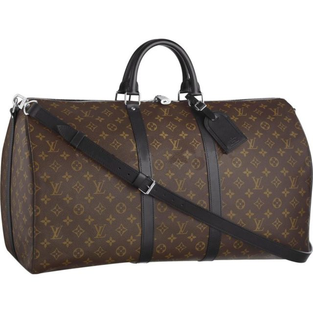 Louis Vuitton Keepall 55 Monogram Macassar