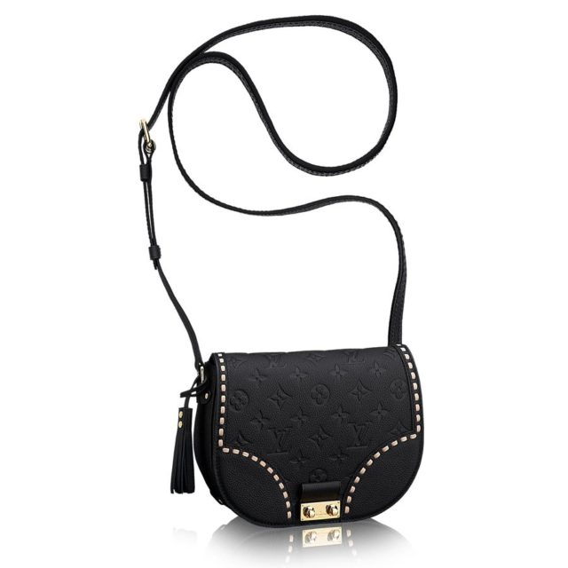 Louis Vuitton Monogram Empreinte Junot Black