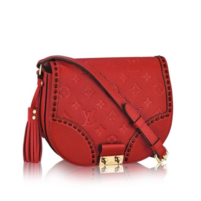 Louis Vuitton Monogram Empreinte Junot Red