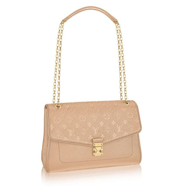 Louis Vuitton Monogram Empreinte St Germain Dune MM