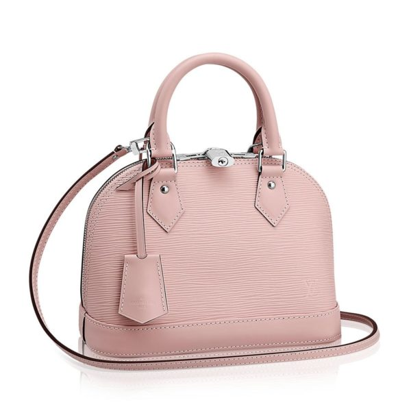 Louis Vuitton Alma BB Rose Ballerine