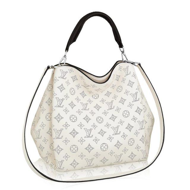 Louis Vuitton Mahina Babylone PM Ivory