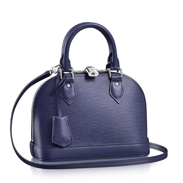 Louis Vuitton Epi Leather Alma BB Indigo