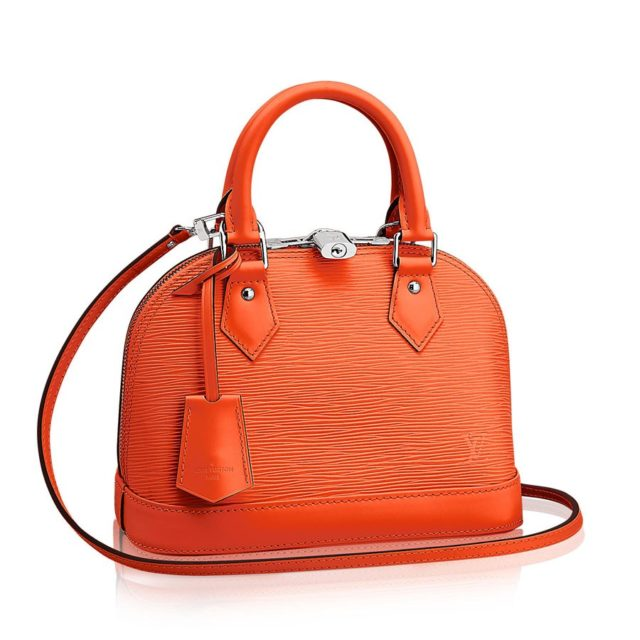 Louis Vuitton Epi Leather Alma BB Orange