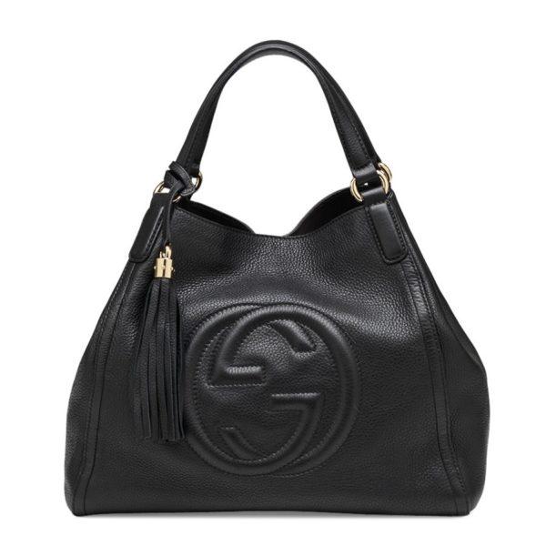 Gucci Soho Leather Black Bag