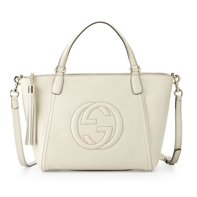 Gucci Soho Small Leather Bag White
