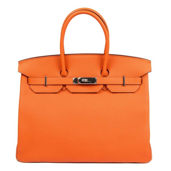 HermesBirkinOrangeBag