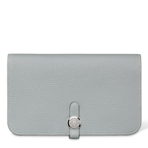 Hermes Dogon Grey Wallet