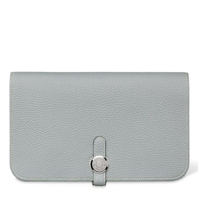 Hermes Dogon Grey Wallet