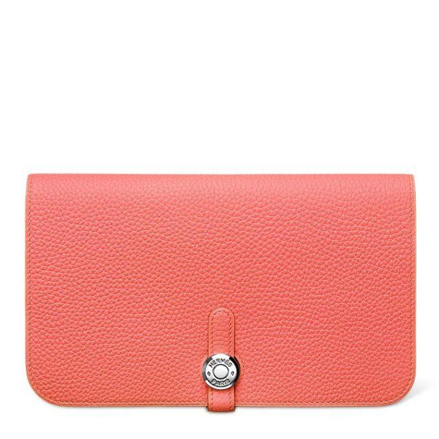 Hermes Dogon Pink Wallet