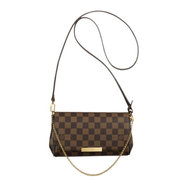 Pochette Favorite Damier Canvas