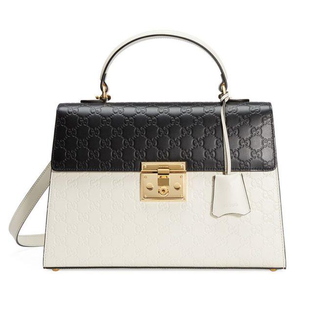 Gucci Padlock Medium Guccissima Bag