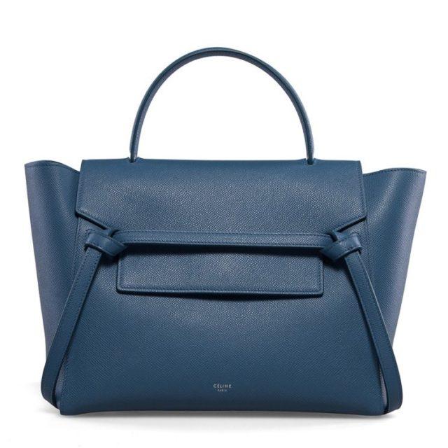 Celine Mini Belt Bag Washed Blue