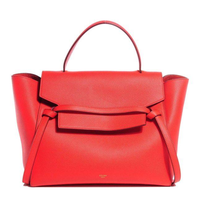 Celine Mini Belt Bag Red