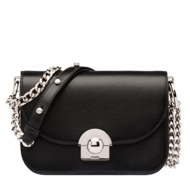 Prada Arcade Black Handbag
