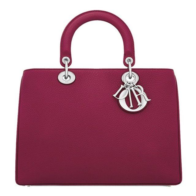 Dior Diorissimo Cherry Red Handbag