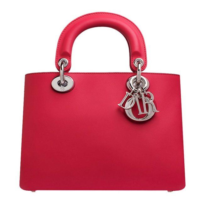 Dior Diorissimo Small Red Bag