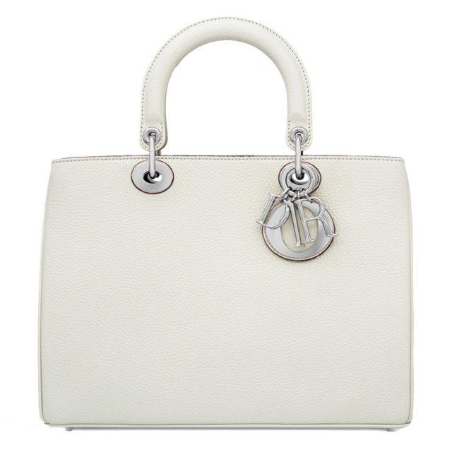 Dior Diorissimo White Bag