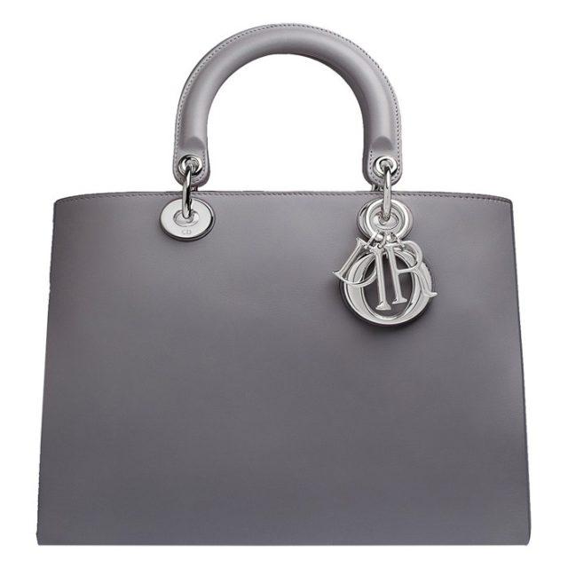 Dior Diorissimo Grey Bag