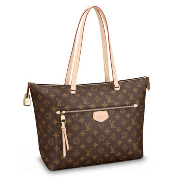 Iena MM Monogram Canvas Tote
