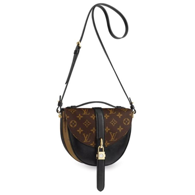 Chantilly Lock Monogram Canvas Black