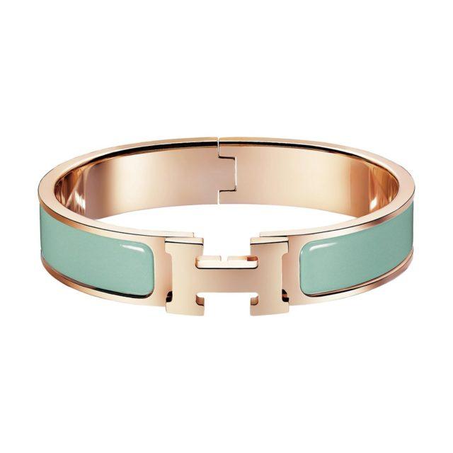 Hermes Aqua H Bracelet