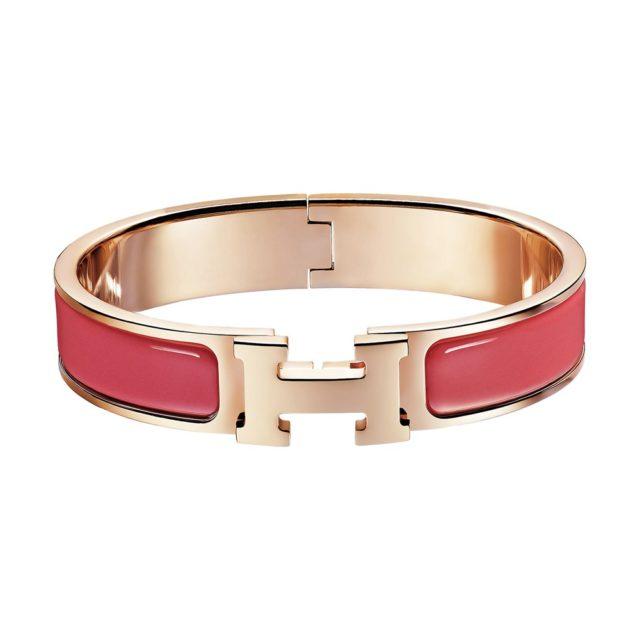 Hermes Red H Bracelet