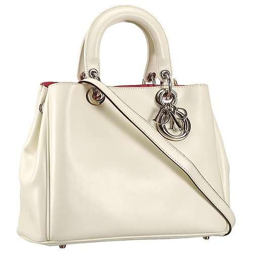 Diorissimo Medium Beige City Bag
