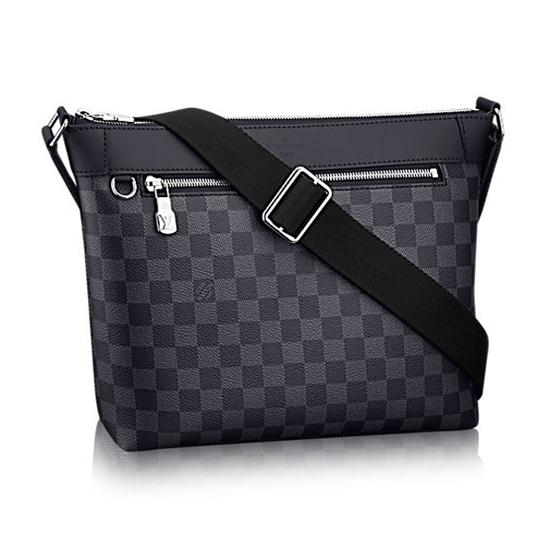 Louis Vuitton N40003 Mick PM Messenger Bag Damier Graphite Canvas