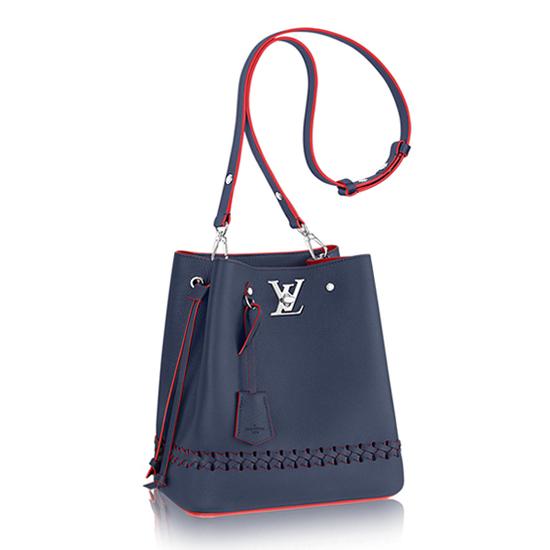 Louis Vuitton Lockme Bucket M54681 Taurillon Leather