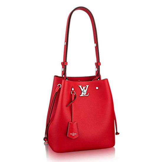 Louis Vuitton Lockme Bucket M54679 Taurillon Leather