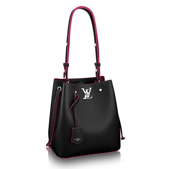Louis Vuitton Lockme Bucket M54677 Taurillon Leather