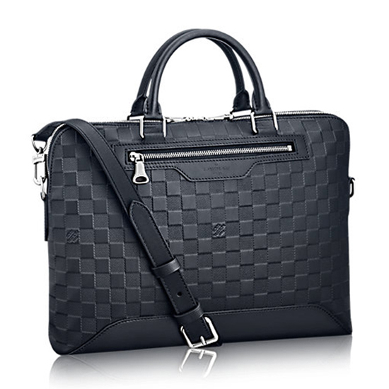 Louis Vuitton Avenue Soft Briefcase N41020 Damier Infini Leather