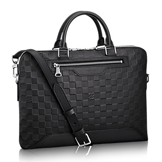 Louis Vuitton Avenue Soft Briefcase N41019 Damier Infini Leather