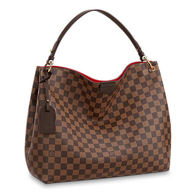 Louis Vuitton Graceful MM N44045 Damier Ebene Canvas