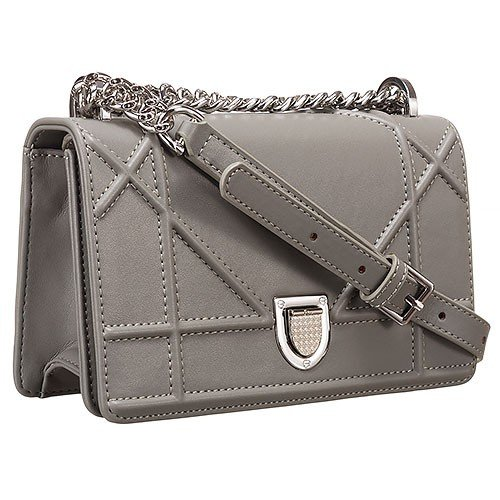 Dior Diorama Small Flap Bag Dark Grey 18926728