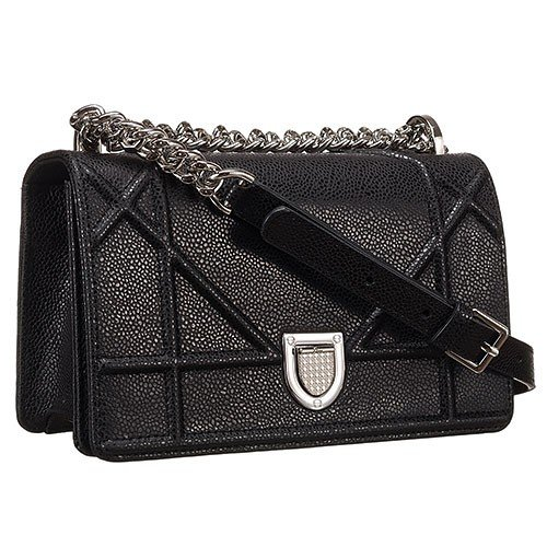 Dior Diorama Small Flap Bag Black 18926719