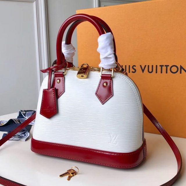 Louis Vuitton Alma BB in Epi Leather M53589 2019 (FANG-9042606 )