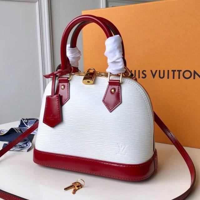 Louis Vuitton Alma BB in Epi Leather M53589 2019 (FANG-9042606 )