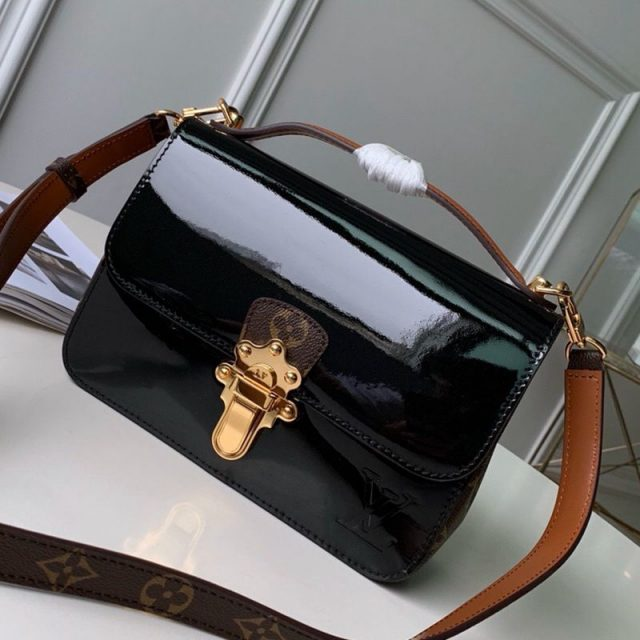 Louis Vuitton Cherrywood BB in Monogarm Canvas and Black Patent Leather M51953 2019 (KD-9050837 )