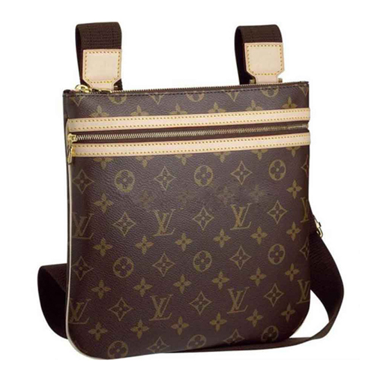 Louis Vuitton M40044 Pochette Bosphore Crossbody Bag Monogram Canvas