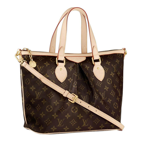 Louis Vuitton M40145 Palermo PM Shoulder Bag Monogram Canvas