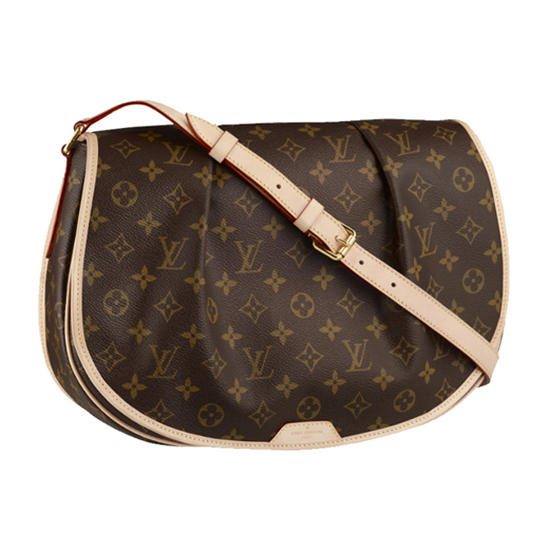Louis Vuitton M40473 Menilmontant MM Crossbody Bag Monogram Canvas