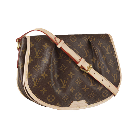 Louis Vuitton M40474 Menilmontant PM Crossbody Bag Monogram Canvas
