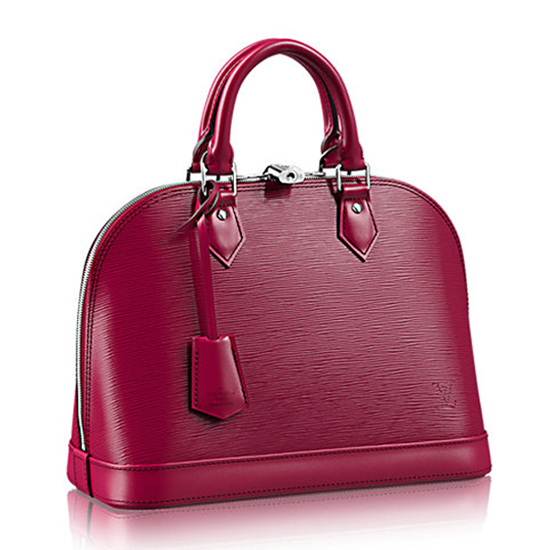Louis Vuitton M40490 Alma PM Tote Bag Epi Leather