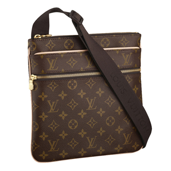 Louis Vuitton M40524 Valmy Pochette Crossbody Bag Monogram Canvas