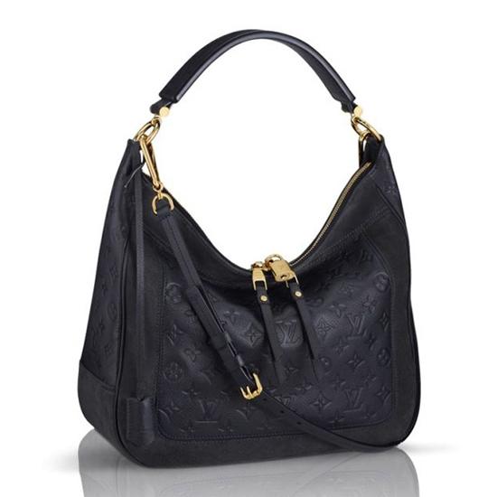 Louis Vuitton M40589 Audacieuse MM Hobo Bag Monogram Empreinte Leather