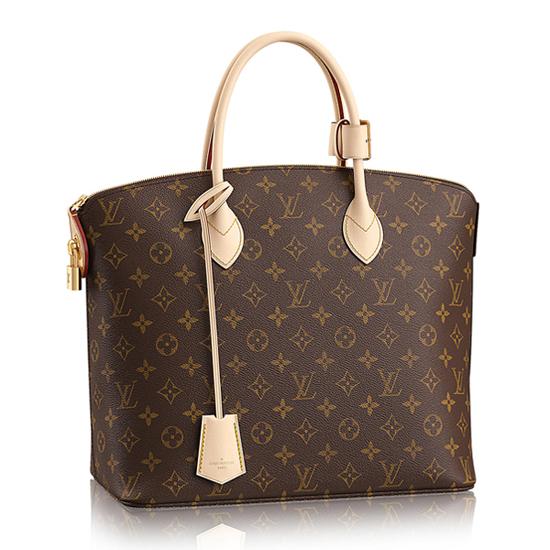 Louis Vuitton M40606 Lockit MM Tote Bag Monogram Canvas