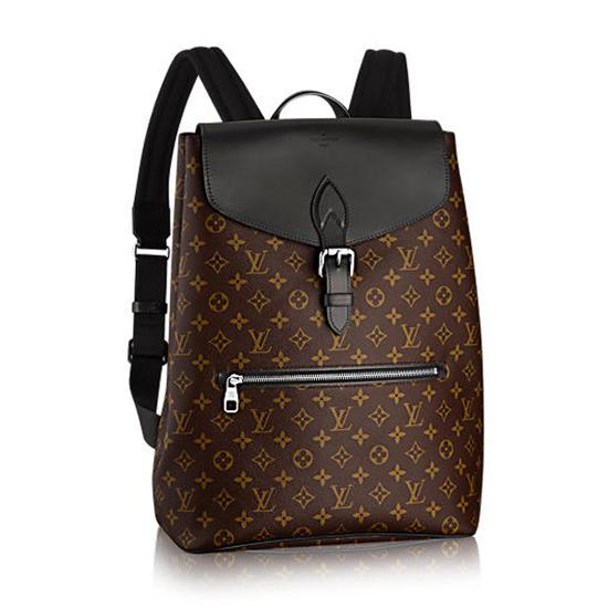 Louis Vuitton M40637 Palk Backpack Monogram Canvas
