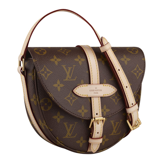 Louis Vuitton M40646 Chantilly PM Crossbody Bag Monogram Canvas